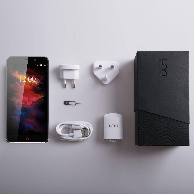 UMI MAX Smartphone Libre 4G LTE Android 6.0 (Pantalla 5.5, 4000mAh, Helio P10 Octa Core, Lector de Huella, Cámara de 13 MP/8 MP, 3 GB RAM/16 GB ROM, Dual SIM,WiFi,GPS): Amazon.es: Electrónica
