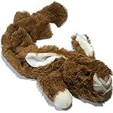 Happy Pet Unstuffed Rabbit Character Soft Dog Toy