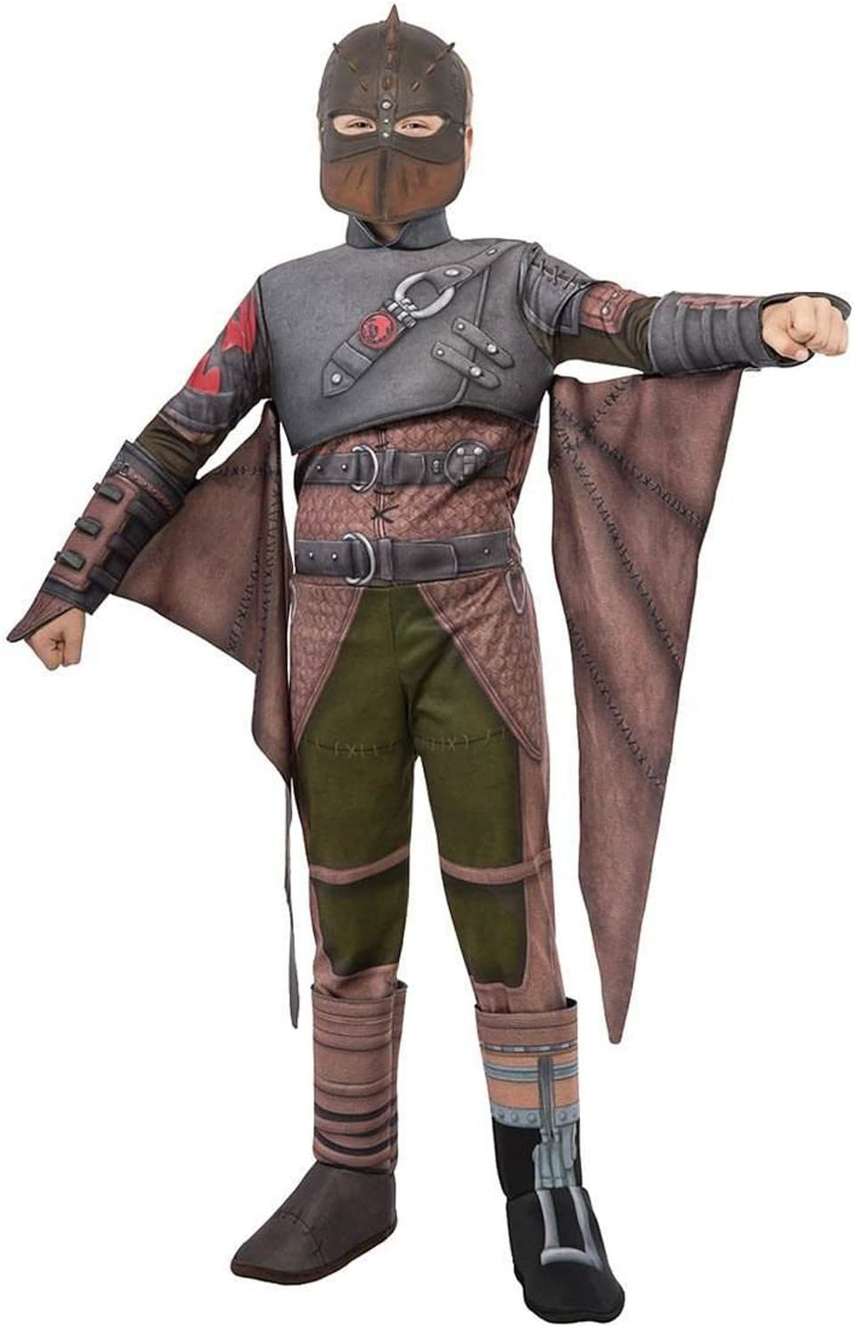 Amazon Com Rubies How To Train Your Dragon 2 Deluxe Hiccup Flight Suit Costume Child Small Toys Games
