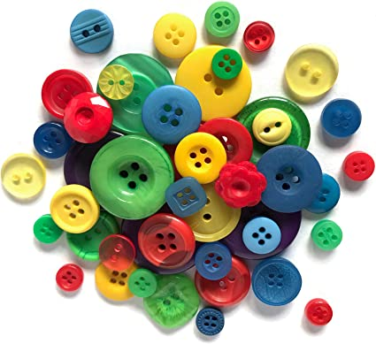 Novelty Buttons Choose your Button Shape and Colour