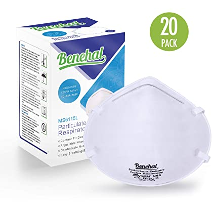 Disposable Particulate Benehal Masks Niosh-certified Dust N95