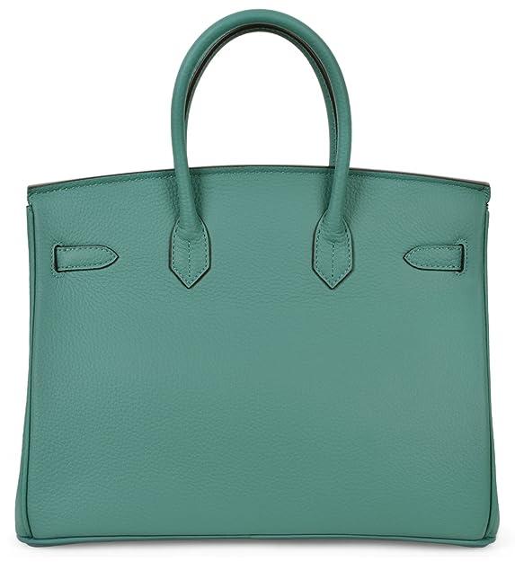 Cherish Kiss Women s Handbags Genuine Leather Tote Padlock Bags  Handbags   Amazon.com 8aad41743ef04