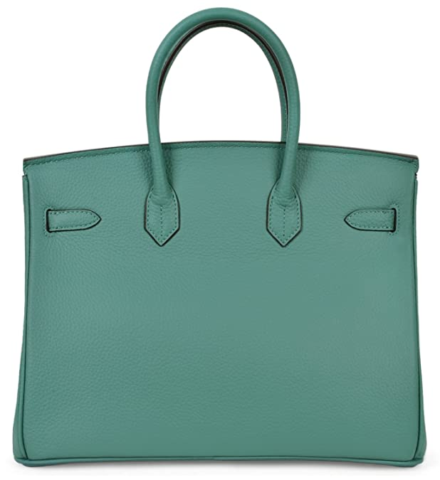 7a0abc0a0215 Cherish Kiss Women s Handbags Genuine Leather Tote Padlock Bags  Handbags   Amazon.com