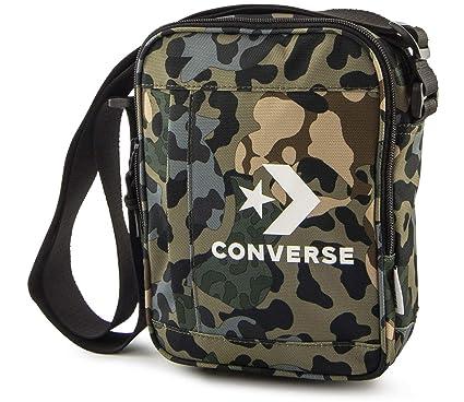 4ba7829b1c46d7 Converse All Star Poly Cross Body Shoudler Man Small Item Bag - Camo ...