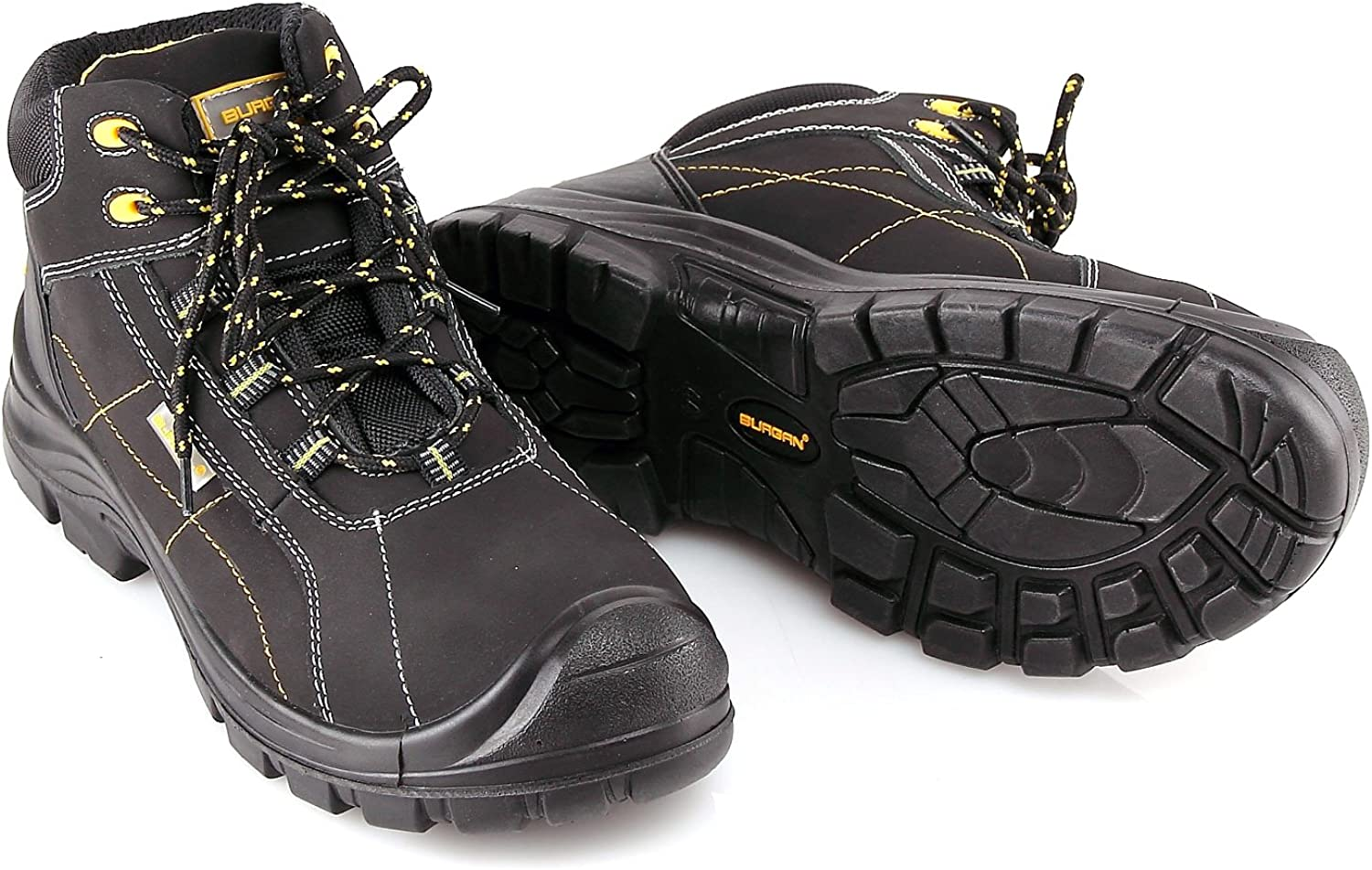 Amazon.com: Burgan 290 anti-penetration compuesto de botas ...