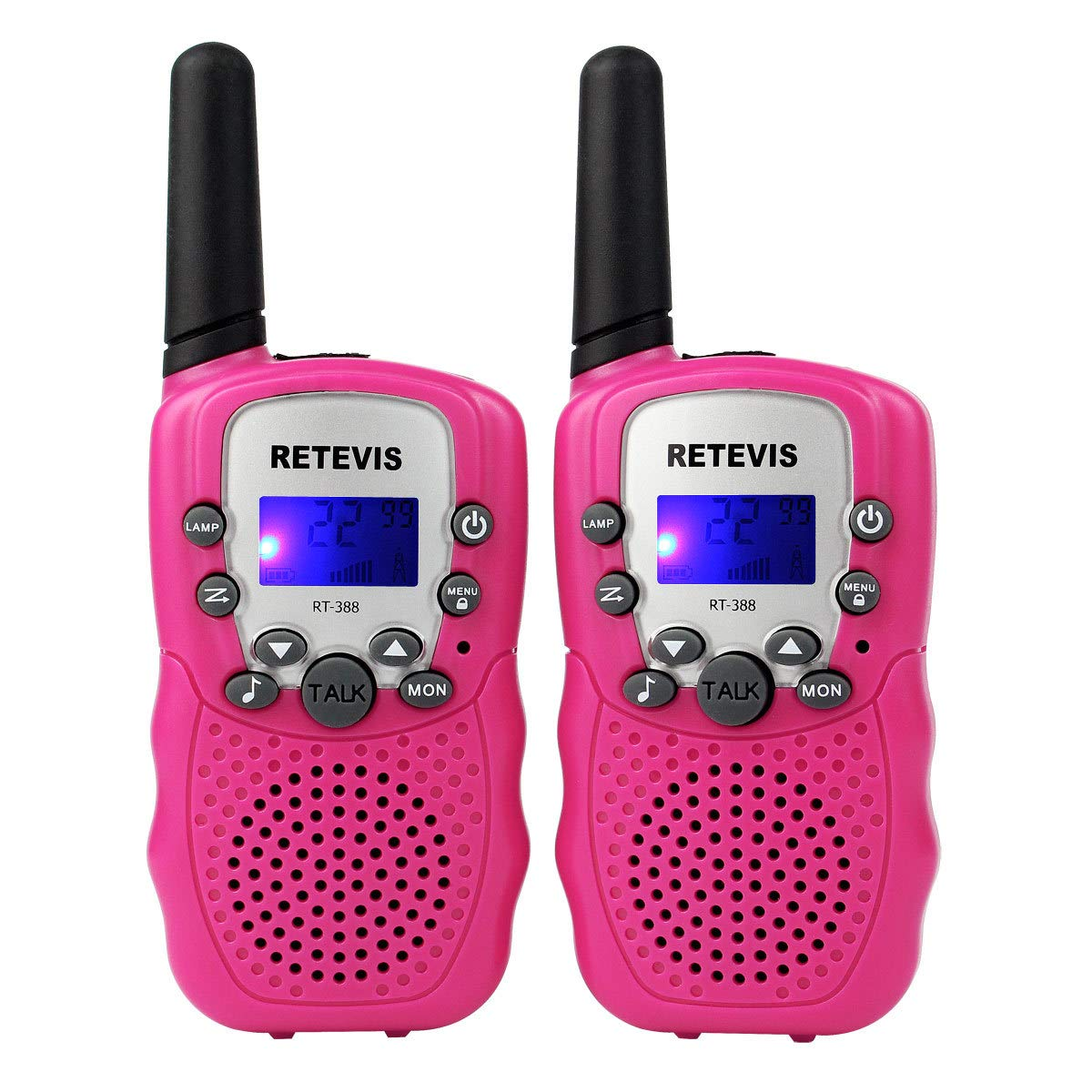 HM2 Children's Walkie-Talkie, Rechargeable Mini 2pcs Parent-Child Interactive Outdoor Toys, Suitable for Children's by HM2 (Image #3)