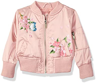 43f613c52a2a Amazon.com  Urban Republic Baby Girls Poly-Sateen Jacket