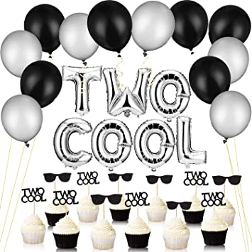 32 Piezas Two Cool Globos con Two Cool Resplandecer Segundo ...