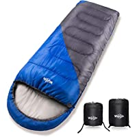 Deals on Wantdo 30°F Camping Sleeping Bag with Compression Sack