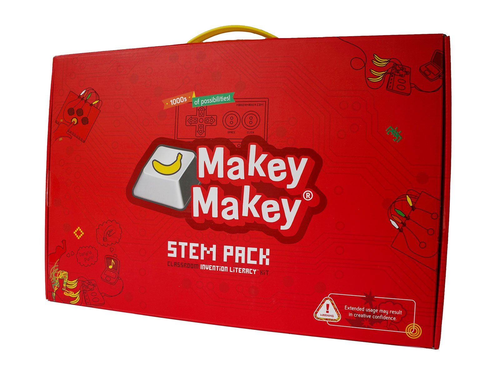Makey Makey Stem Pack - Classroom Invention Literacy Kit, Red by Makey Makey (Image #2)