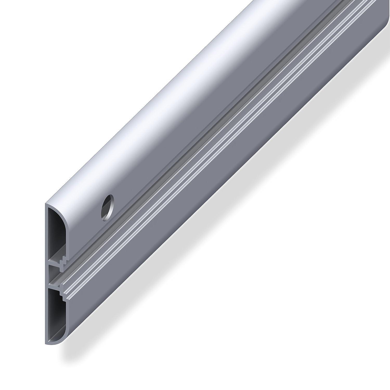1 St/ück universal Wandhaken schwarz gummiert Tragkraft 10 kg Ski-Halterung zum Schrauben Stahl verzinkt Gedotec Skihalter gebogen Ger/ätehalter Garage Wandhalter f/ür die Wand-Montage