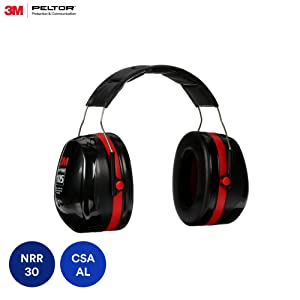 3M PELTOR Optime 105 Earmuffs H10A, Over-the-Head