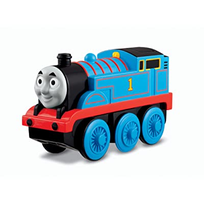Fisher-Price Thomas & Friends Wooden Railway, Train, Thomas - Battery Operated Train: Toys & Games