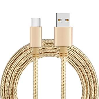 Amazon.com: Cargador & usb cable, Ama (TM) 1 m tipo C a USB ...