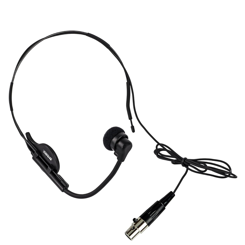 Nady HM Headwornマイク – ハンズフリーマイク使用の歌手、エアロビクスインストラクタ、Presenters、教師など。、調整可能なグースネックの位置決めのマイク、mini-xlr接続 B00A86P326