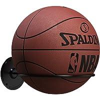Kesito Single Ball Wall Mount Holder, Display Storage Rack for Basketball Volleyball Soccer Ball (Steel)