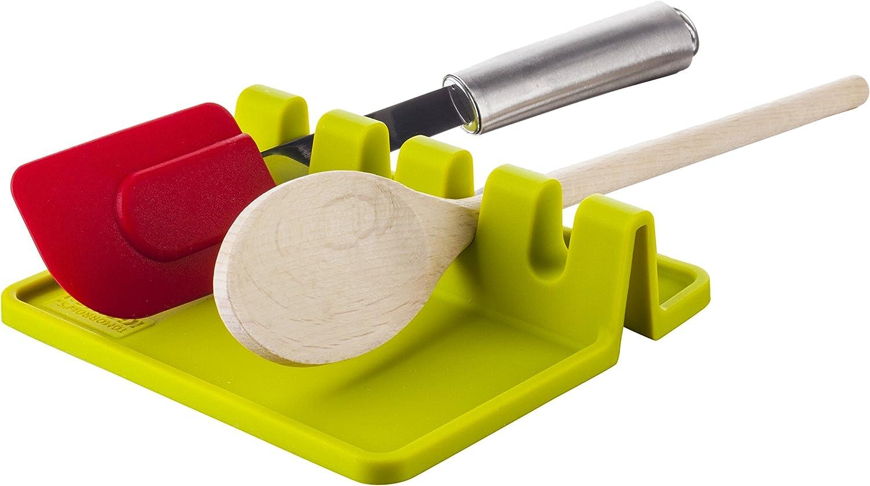Kloius Outil de Cuisine Durable et Pratique en Silicone r/ésistant /à la Chaleur Ensembles de cuill/ères doseuses