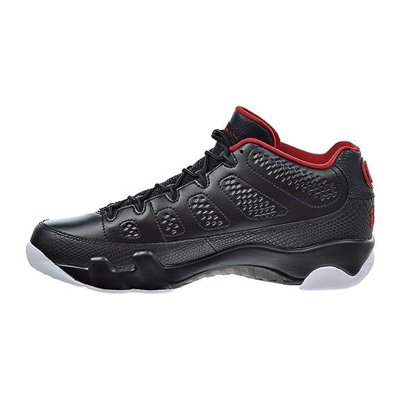 new concept cb40b c39ce Amazon.com   Jordan Air 9 Retro Low Men s Shoes Black Gym Red White 832822- 001   Fashion Sneakers