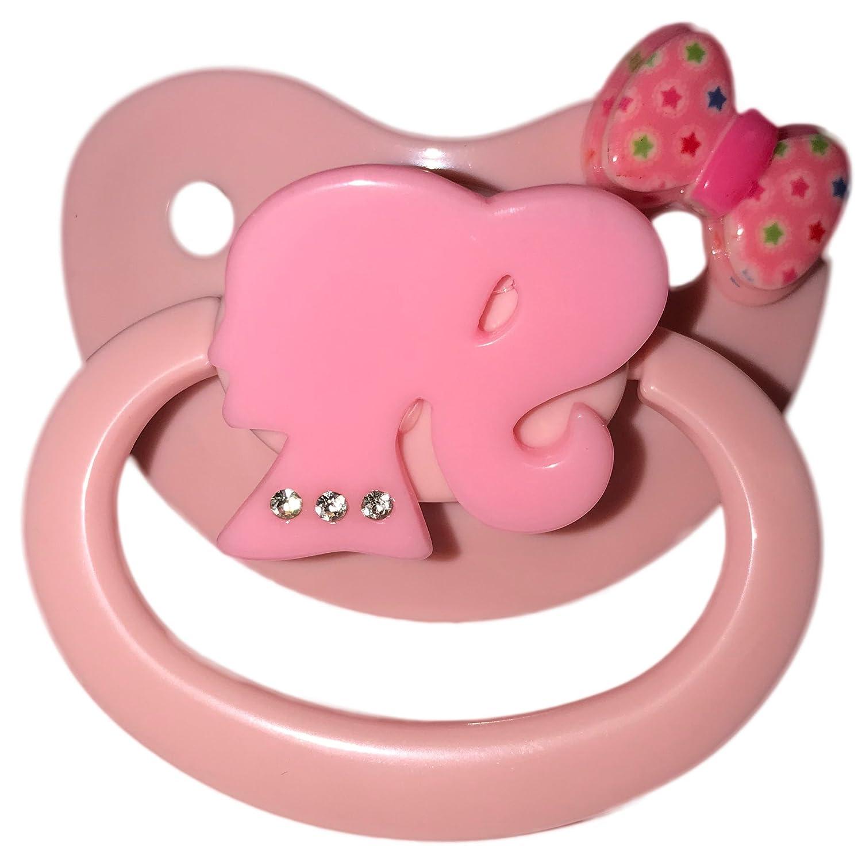 Envy Body Shop Adult Sized Cute Gem Pacifier Dummy for Adult Princess Baby  ABDL/DDLG