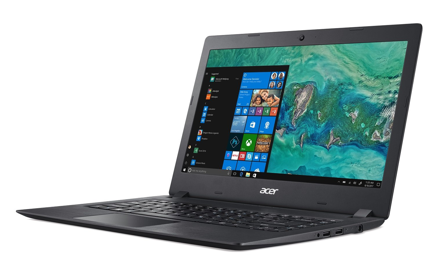 Acer Aspire 1 A114-32-C1YA, 14'' Full HD, Intel Celeron N4000, 4GB DDR4, 64GB eMMC, Office 365 Personal, Windows 10 Home in S mode by Acer (Image #6)
