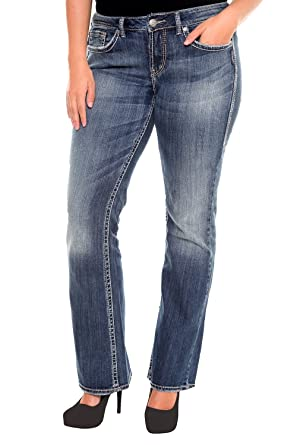 Silver Jeans - Eden Flare Jean 33&quot at Amazon Women&39s Clothing store: