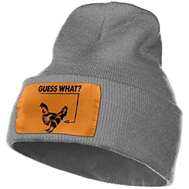 Amazon.com  Guess What Chicken Butt Mens   Womens Adult Unisex Dancing  Beanies  Clothing 6371098e2aa