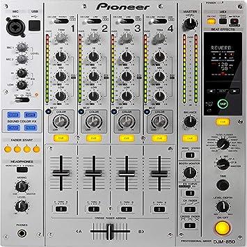 Pioneer Dj - Mezclador M-850-S: Amazon.es: Electrónica