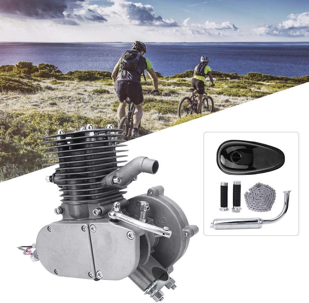 Alomejor Motor Motor Kit de Bicicleta 100cc 2 Tiempos Combustible Gas Combustible DIY Motorizado Bicicleta Bicicleta Motor Motor Kits: Amazon.es: Deportes y aire libre