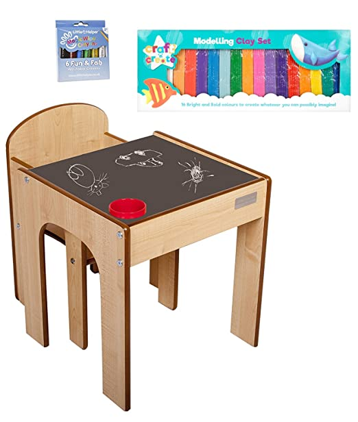 Little Helper - Mueble 3 en 1 Escritorio y Banco Infantil (con ...