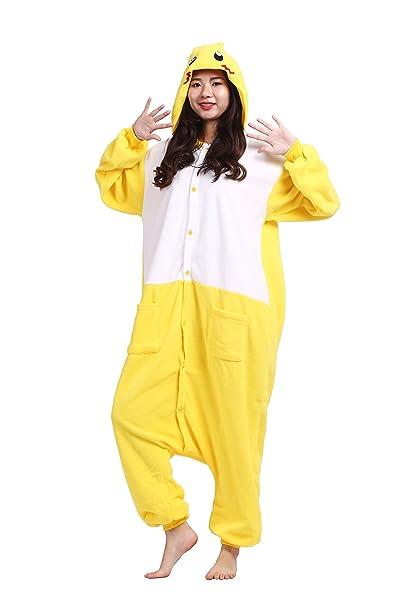 Magicmode Unisex Anime Pijama Enterizo Novedad De Lana Trajes Cosplay Sudadera Con Capucha Kigurumi Pijamas Vestido
