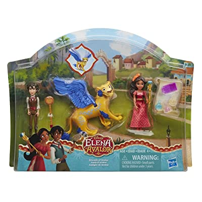 3M Oral Care Exclusive Disney Elena of Avalor - Friends of Avalor Figure Play Set - Inspired by Disney Junior's New Series Elena of Avalor: Toys & Games