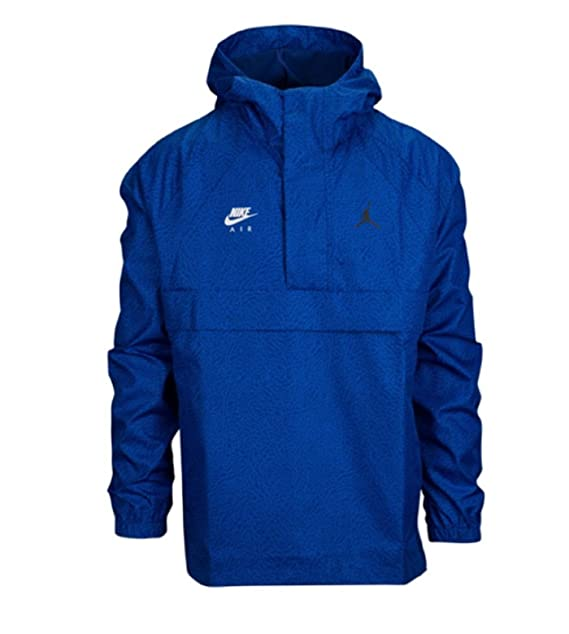 4fc3d8ac813c Nike Mens JSW Wings 1988 Anorak JKT AJ0428-455 XL - Deep Royal Blue Black