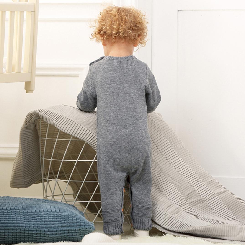 Ropa beb/é Infantil Reci/én Nacido beb/é ni/ño ni/ña Armadura Mameluco de Punto Mono Trajes Ropa 0-24 Mes Amlaiworld