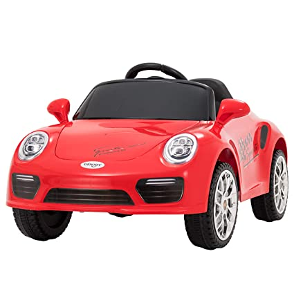 Electric Ride On Cars >> Uenjoy Kids Ride On Cars 6v Battery Power Kids Electric Vehicles With Wheels Suspension Music Remote Control Headlights And Horn Red