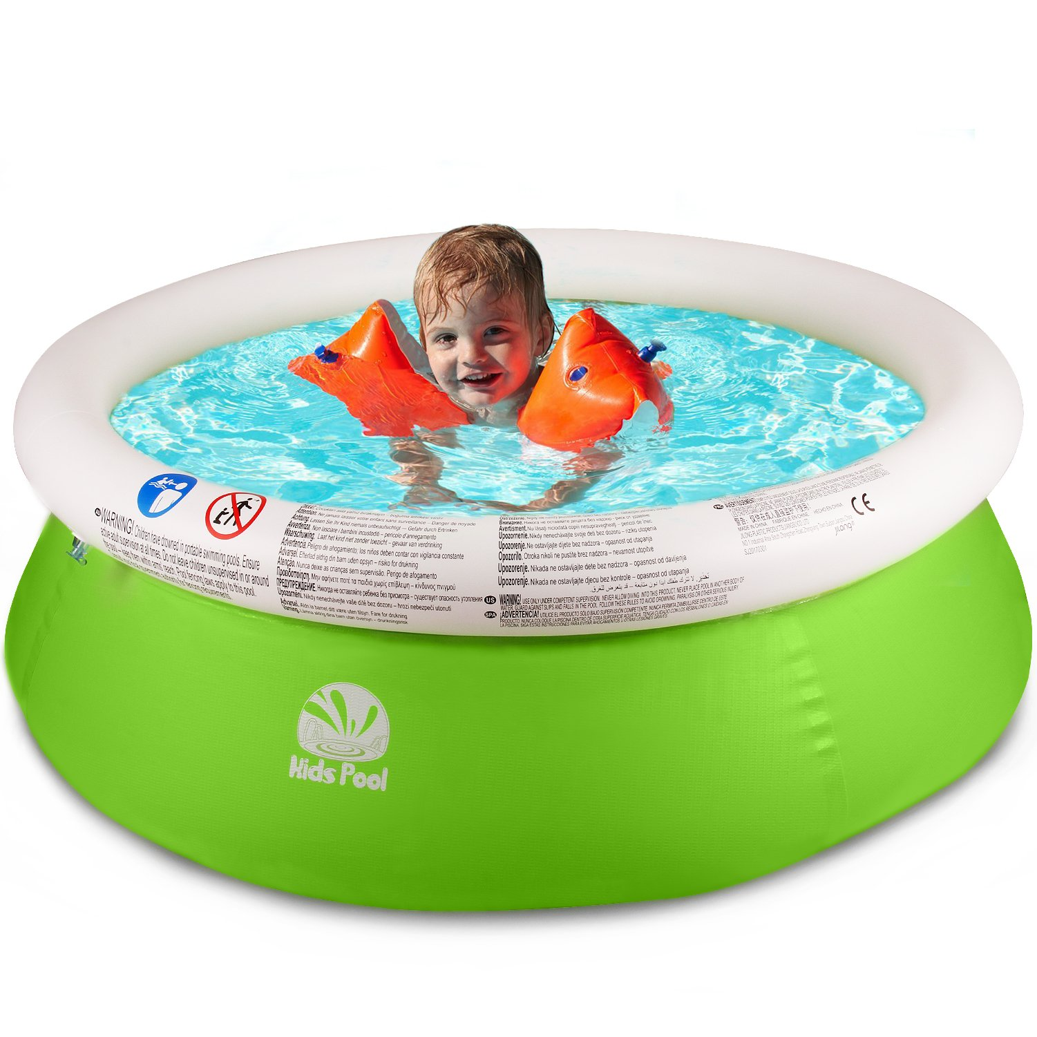 SIMREX Swimming Pool Toys for Kids Easy Set with Filter Pump Pools for Children
