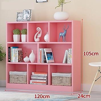 SUBBYE Storage shelves Floorstanding Simple Bookcase Creative Living ...