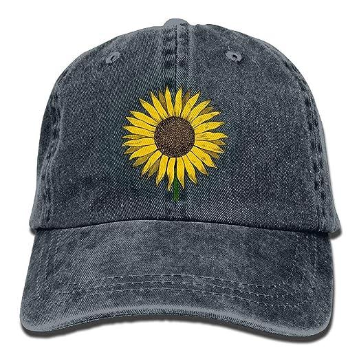 Amazon.com  bikini bags Sunflower Vintage Adjustable Baseball Cap ... 06d45c95c83