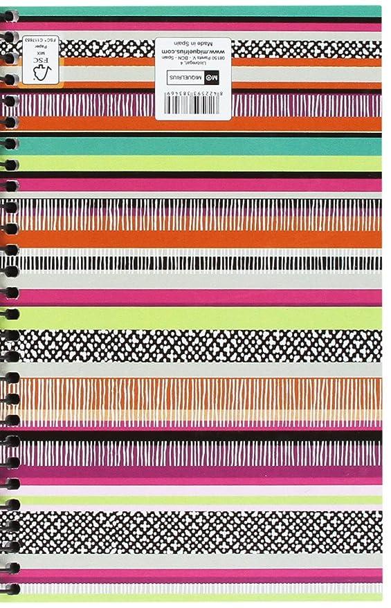 Amazon.com : Miquelrius 8346 - Agenda Annual Spiral, 117 x ...