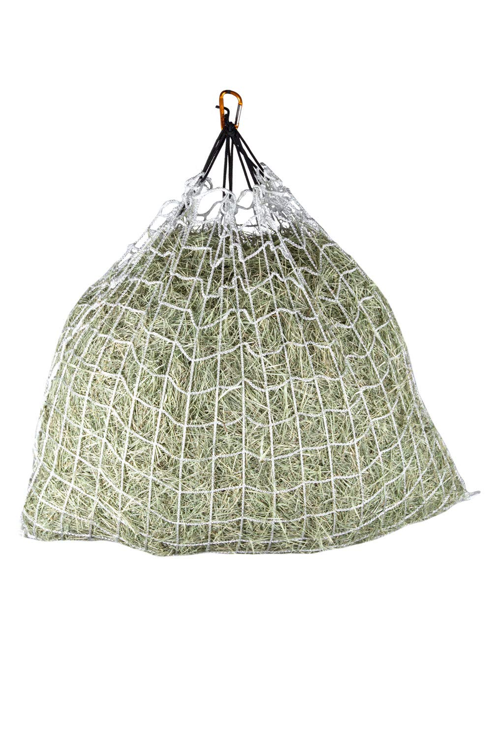 Freedom Feeder Mesh Net Full Day Slow Horse Feeder - Designed to Hold 30 lbs/4 Flakes of Hay and Feed Horse All Day - Reduces Horse Feeding Anxiety and Behavioral Issues
