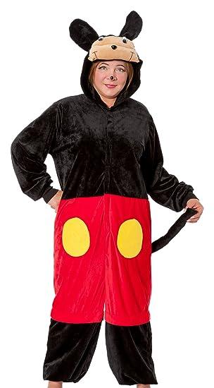 R Dessous Mouse Damen Kostum Plusch Maus Micky Minnie Mickey