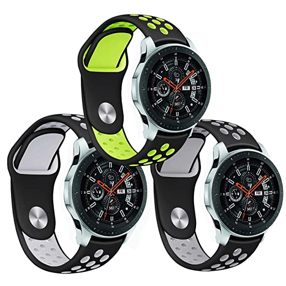 Amazon.com: KINGLOO Compatible Samsung Galaxy Watch (46mm ...