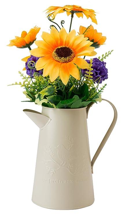 Amazon Com The Paragon Home Decor Sunflower Artificial Flower