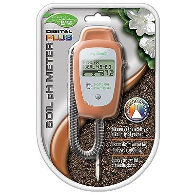 Luster Leaf 1847 Digital Plus Soil Ph Meter : Soil Testers : Garden & Outdoor