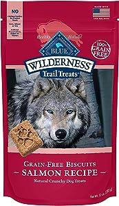 Blue Buffalo Wilderness Trail Treats Grain-Free Salmon Biscuits 10 Oz(2Pack)