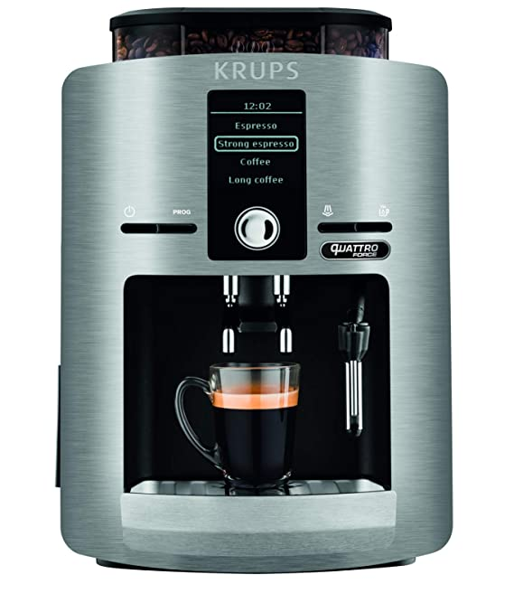 Krups Expresso - Molinillo de café, color plateado