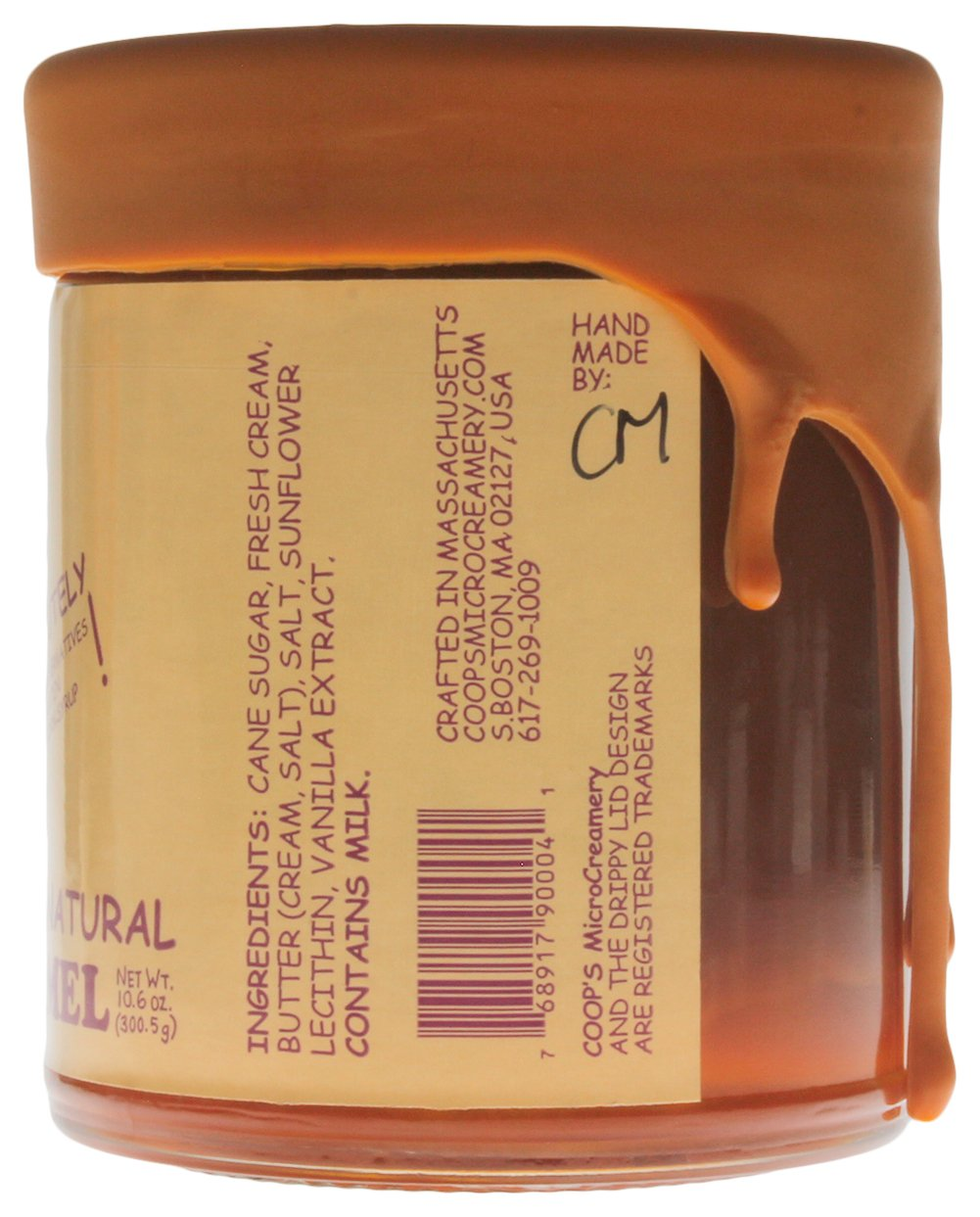 Coop's MicroCreamery - Salted Caramel Sauce (2-pack)