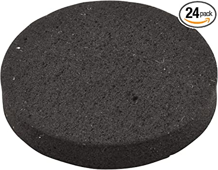 Heavy Duty Circle Furniture Grip Black Stanley Hardware S845-010 1-1//2in