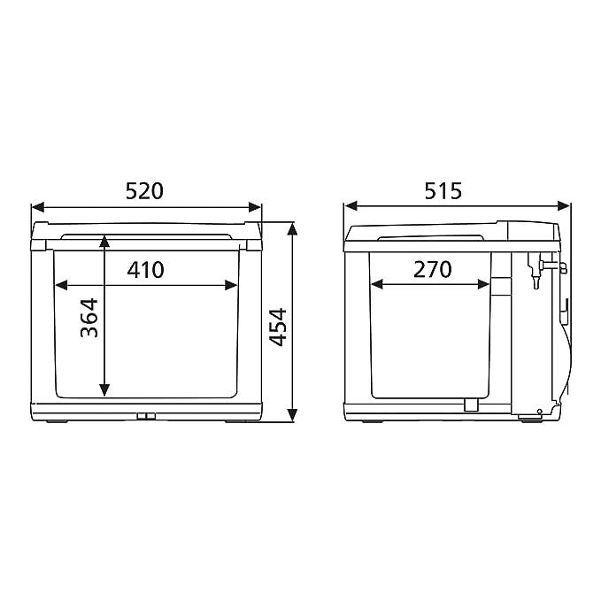 Amazon.es: Dometic CoolFun CK40D - Nevera Híbrida portátil ...