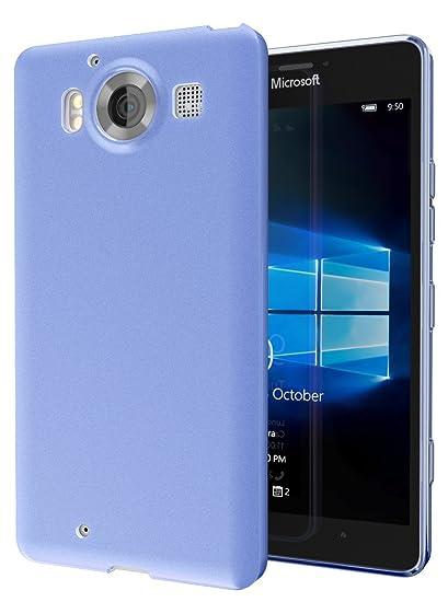 best service 70845 6bf04 Microsoft Lumia 950 Case, Cimo [Matte] Premium Slim TPU Flexible Soft Case  for Microsoft Lumia 950 - Blue