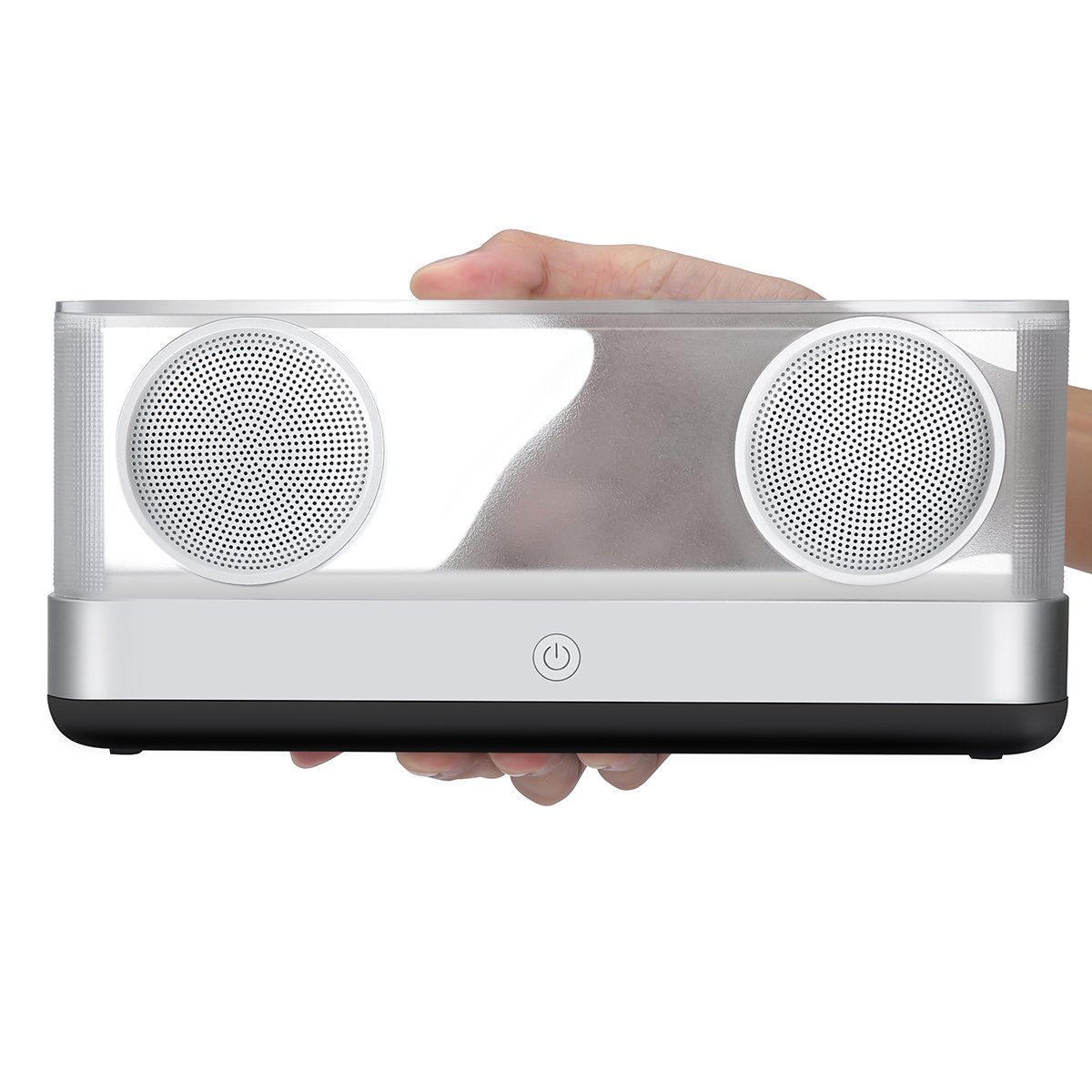 Portable Bluetooth Speaker, ELEGIANT Wireless Stereo Sound Speakers 20W LED Outdoor DSP Stereo Sound Super Bass 12 Hours Play Time for Car iPhone iPad Samsung S8/S9 Tablet PC